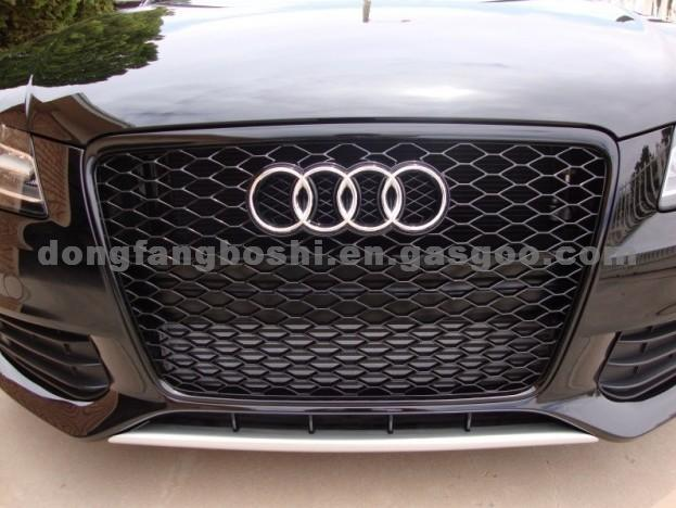 Front Grille Replacement For Audi A4 RS4, Black Grille, Black Frame on mercedes 190e grill, lincoln mkx grill, s class grill, hyundai azera grill, ford maverick grill, chrysler sebring grill, mercedes c300 grill, lexus is grill, audi rs7 grill, honda legend grill, honda del sol grill, subaru wrx grill, chrysler concorde grill, lexus ls grill, buick verano grill, buick lesabre grill, mk6 jetta grill, bmw 745 grill, chrysler 300m grill, toyota altezza grill,
