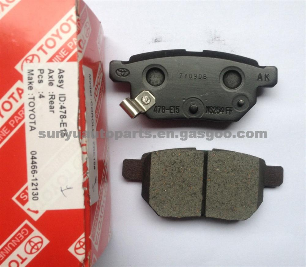 GENUINE BREMBO FRONT AXLE BRAKE PAD SET BRAKE KIT BRAKE PADS FOR TOYOTA YARIS